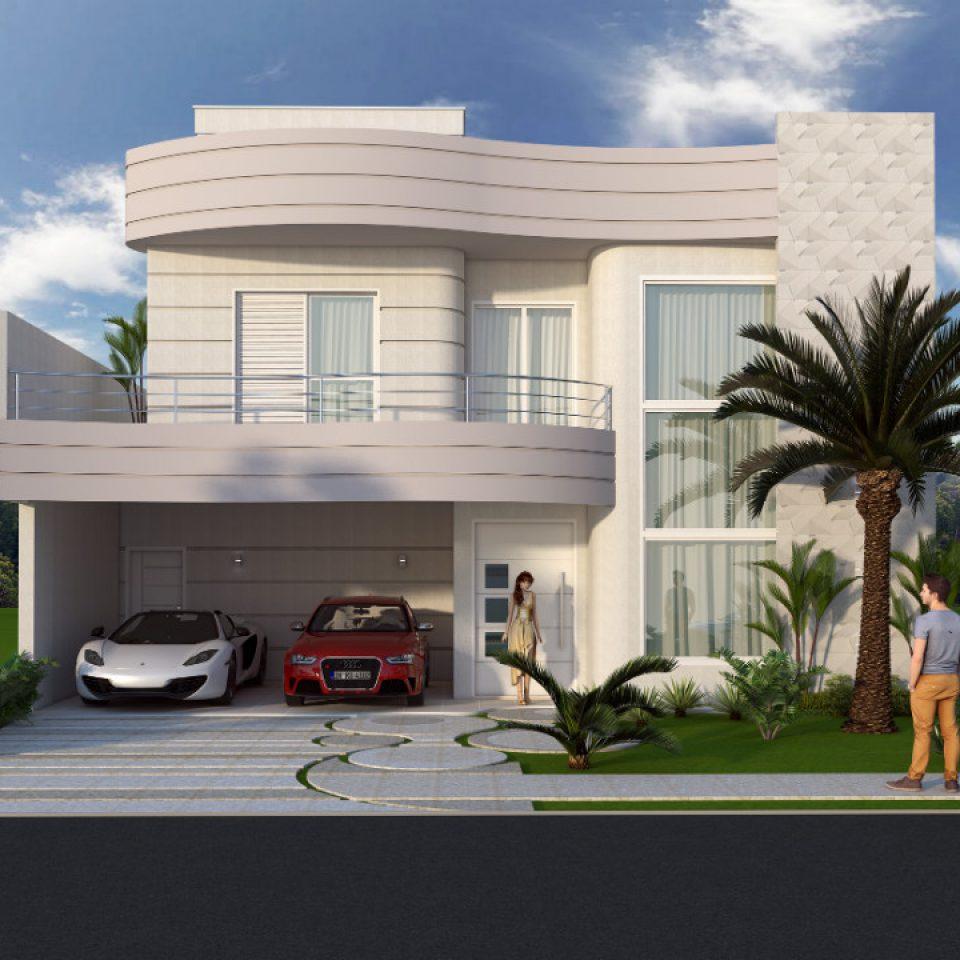 Home page arquiteto caio for Casa moderna 4 ambientes
