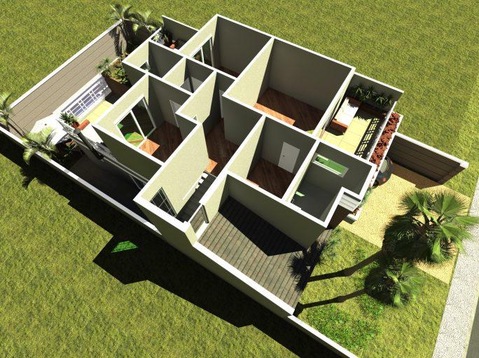 projeto 220 metros sobrado terreno 12x25 arquitetura clássica telhado shingle arquiteto limeira condomínio margarida holstein