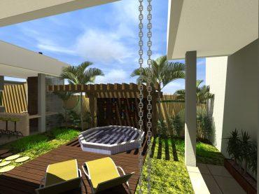 Decoração de Duplex Com Jardim Na Varanda