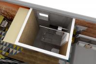 Projeto Arquitetura de Interiores Loft Sustentável com 30m2 Design de Interiores Arquiteto Campinas
