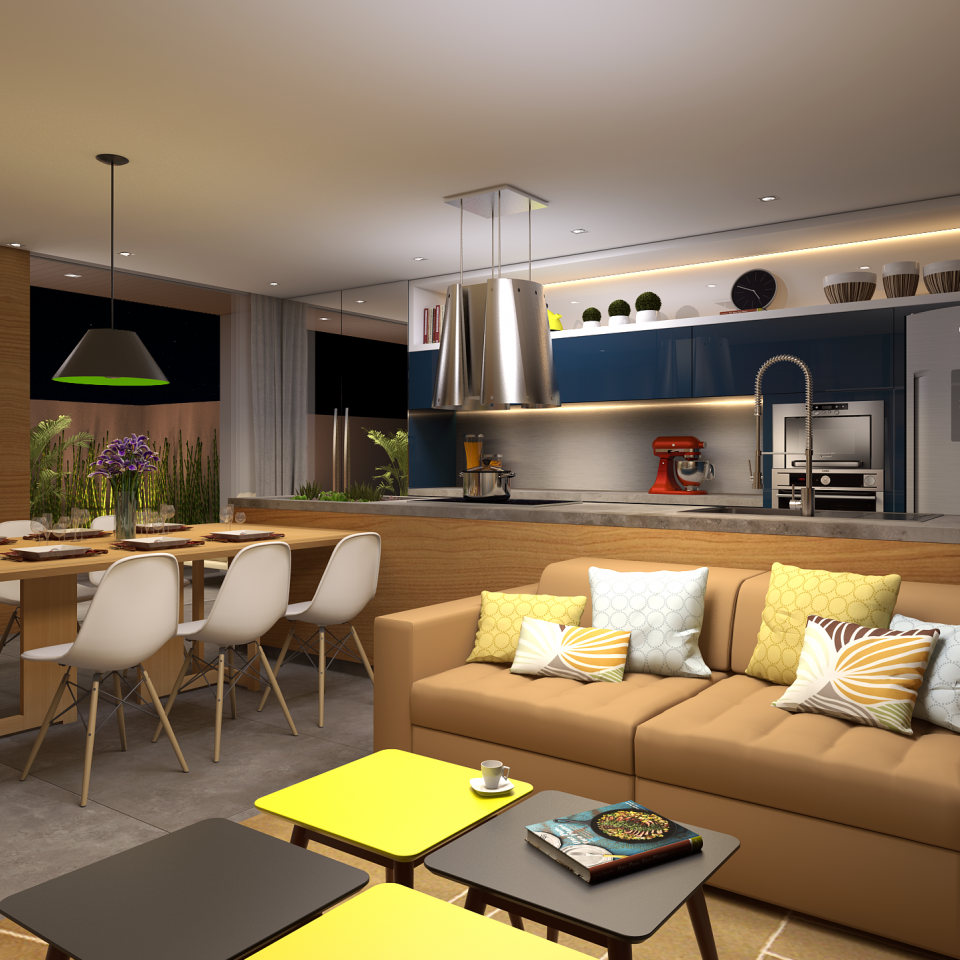 Projetos arquitetura de interiores campinas design de for Furnish decorador de interiores