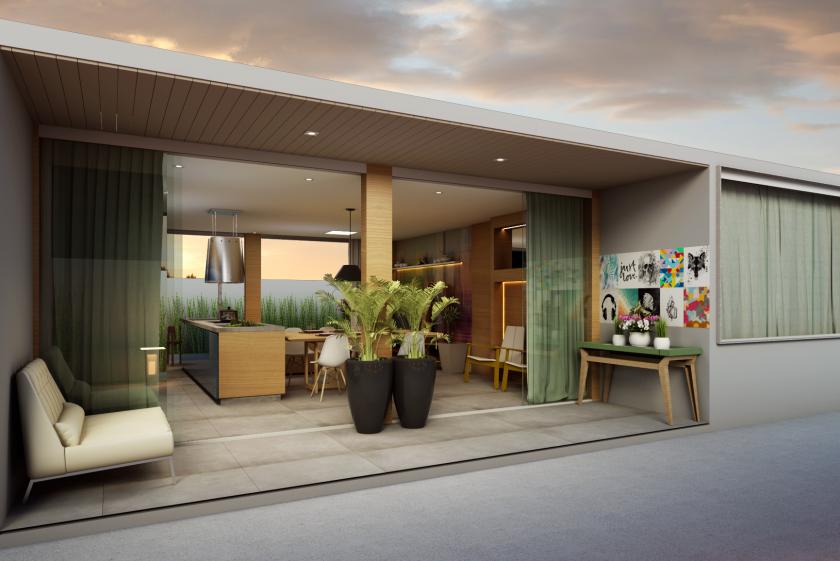 Casa de Alto Padrão Sustentável no Condomínio Alphaville