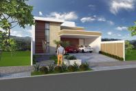 casa sobrado terreno declive estrutura metálica vidro arquiteto limeira