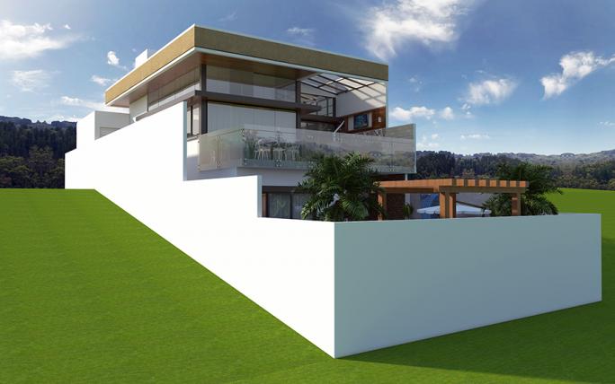 casa-sobrado-terreno-declive-estrutura-metálica-vidro-arquiteto-Jundiai
