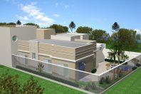 Projeto Terreno 12×30 Planta Casa Térrea com Mezanino Arquiteto em Paulínia Condomínio