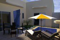 projeto casa terrea terreno 10×25 condominio fachada moderna bloco arquiteto hortolandia volume deslocado