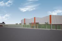 projeto galpão comercial 7000 metros industria americana sp arquitetura-moderna estrutura metálica arquiteto