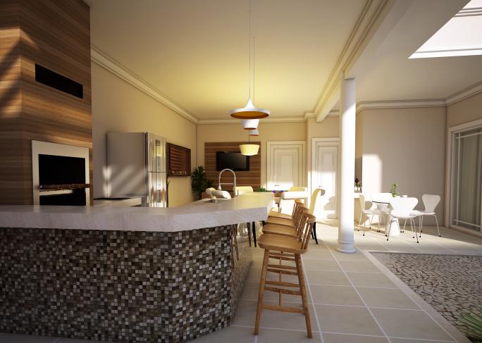 Projeto de decoracao online rapido barato arquiteto caio for Casa moderna economica