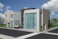 projeto prédio comercial galeria lojas escritórios limeira arquitetura moderna