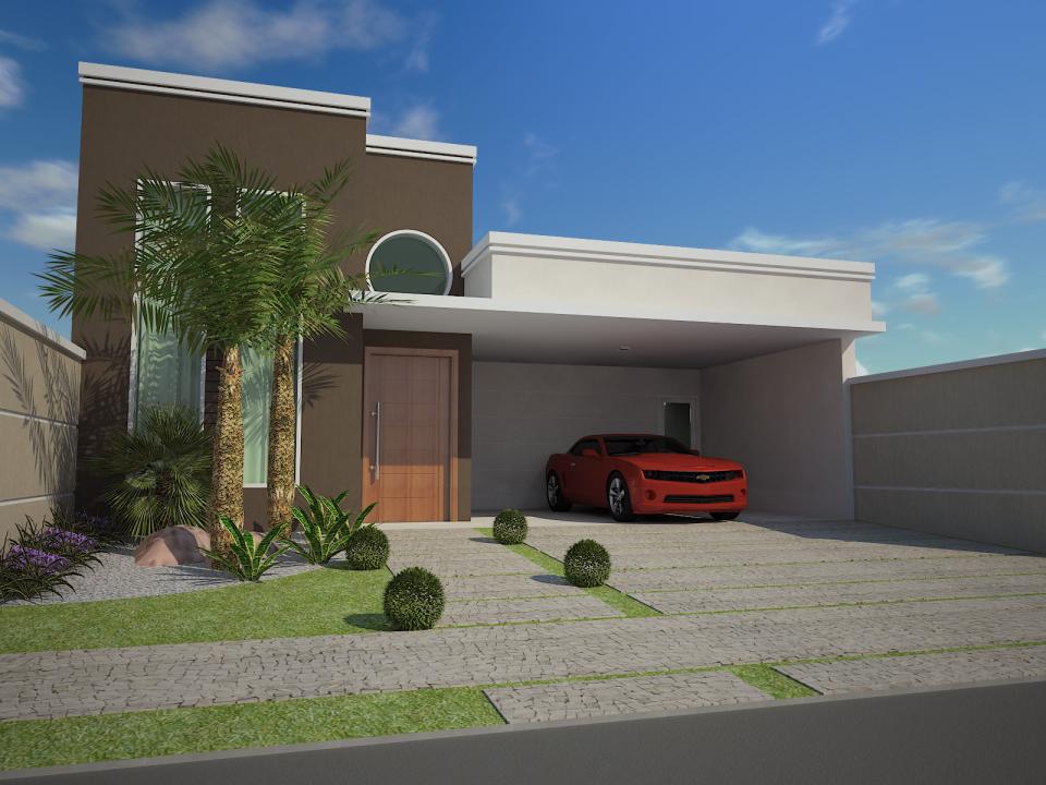casa moderna contempor nea fachada reta marrom janela