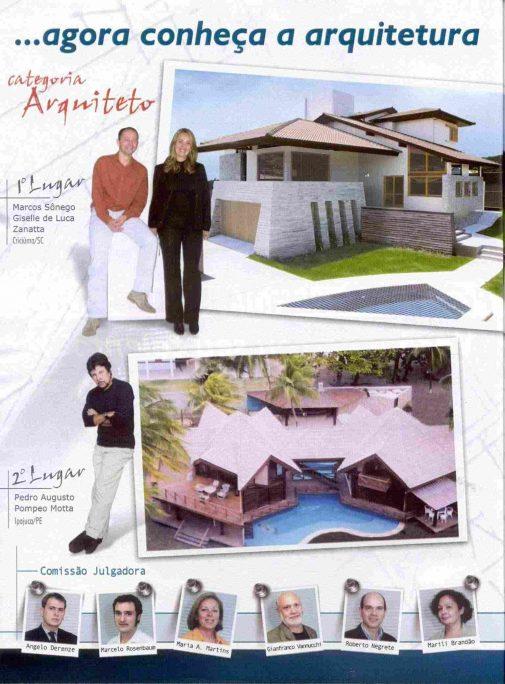 melhor telhado brasil concurso premiado arquiteto caio arquitetura moderna telha tégula