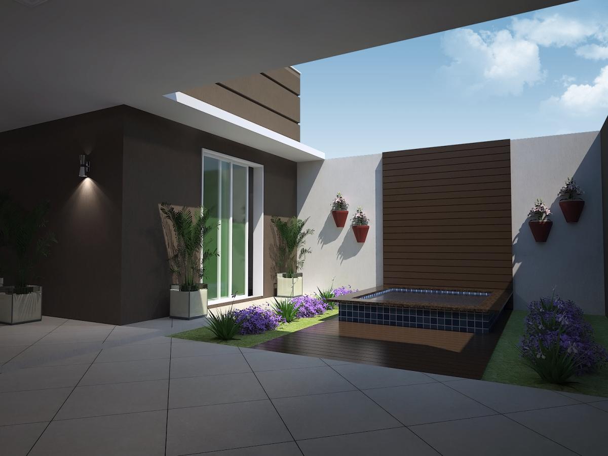 #376C94 projeto 100 metros quadrados casa térrea fachada moderna quadrada  1200x900 px projeto banheiro 2 metros quadrados