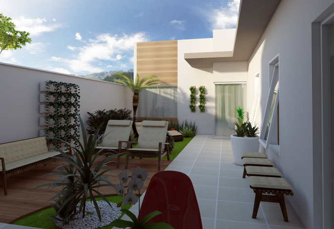 Informa es teis para escolha do terreno arquiteto caio for Casa moderna 10 x 20
