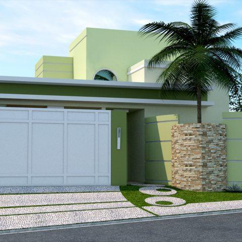 Projetos de casas arquitetura moderna e contempor nea for Casa moderna 8x20