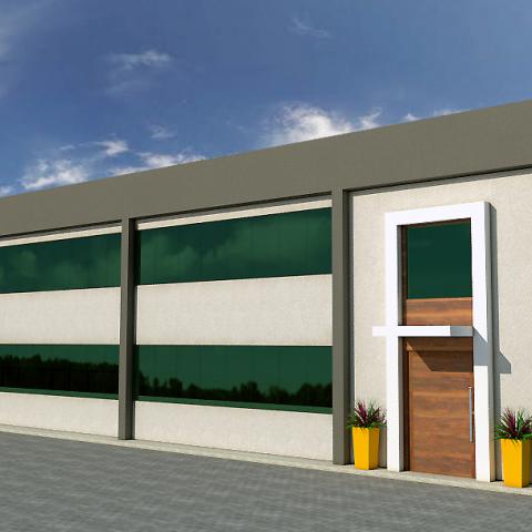 projeto arquitetura corporativa sede administrativa 2 pavimentos parex group itupeva arquiteto campinas