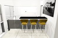projeto arquitetura interiores corporativo copa empresa refeitório desenho moveis arquiteto campinas