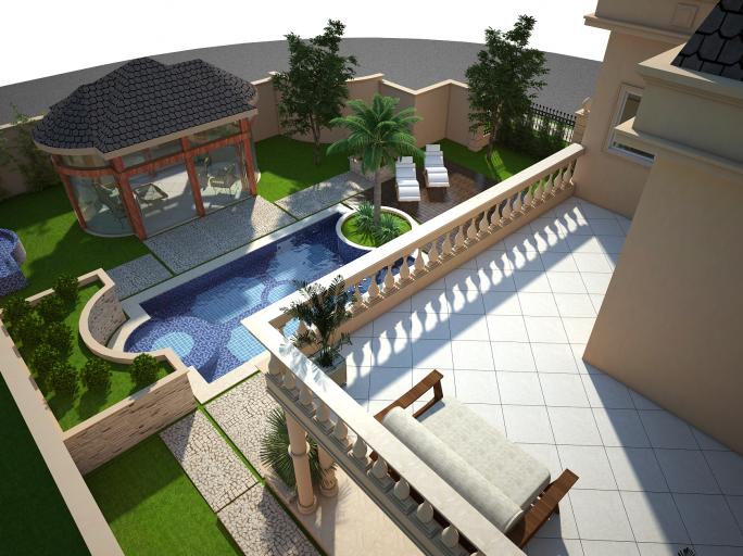 Projetos de piscinas cl ssicas arquiteto caio for Estilo de piscina