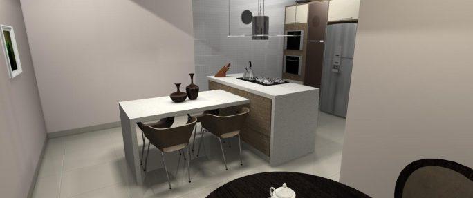 projeto design interiores arquitetura interna cozinha projeto moveis ilha coifa balcão reforma