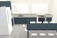 projeto design interiores copinha arquitetura corporativa empresa refeitório pequeno planejado arquiteto caio