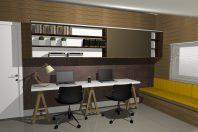 projeto design interiores reforma casa sobrado estilo escandinavo moderno condomínio Limeira SP