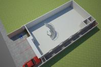 projeto galpão loja moderna arquitetura comercial cartório engenheiro coelho sp arquiteto limeira fachada reta