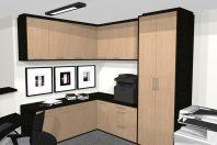 projeto moveis design interiores corporativo empresarial cantinho xerox decorador campinas limeira