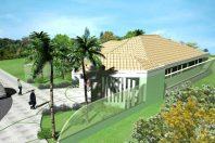 projeto planta casa 200m2 metros esquina rotatória arquitetura moderna condomínio roland limeira sp arquiteto arquiteta