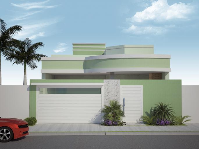 Casas de dos plantas excellent plantas de casas com for Casas modernas 8x20