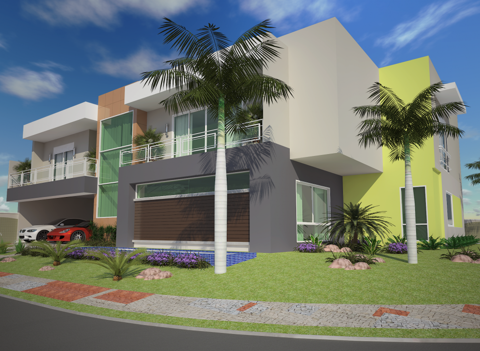 Projetos casas alto padr o modernas arquitetura for Casas modernas redondas