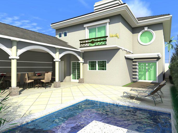 Arquitetura de casas americanas projeto casa americana - Casas americanas interiores ...