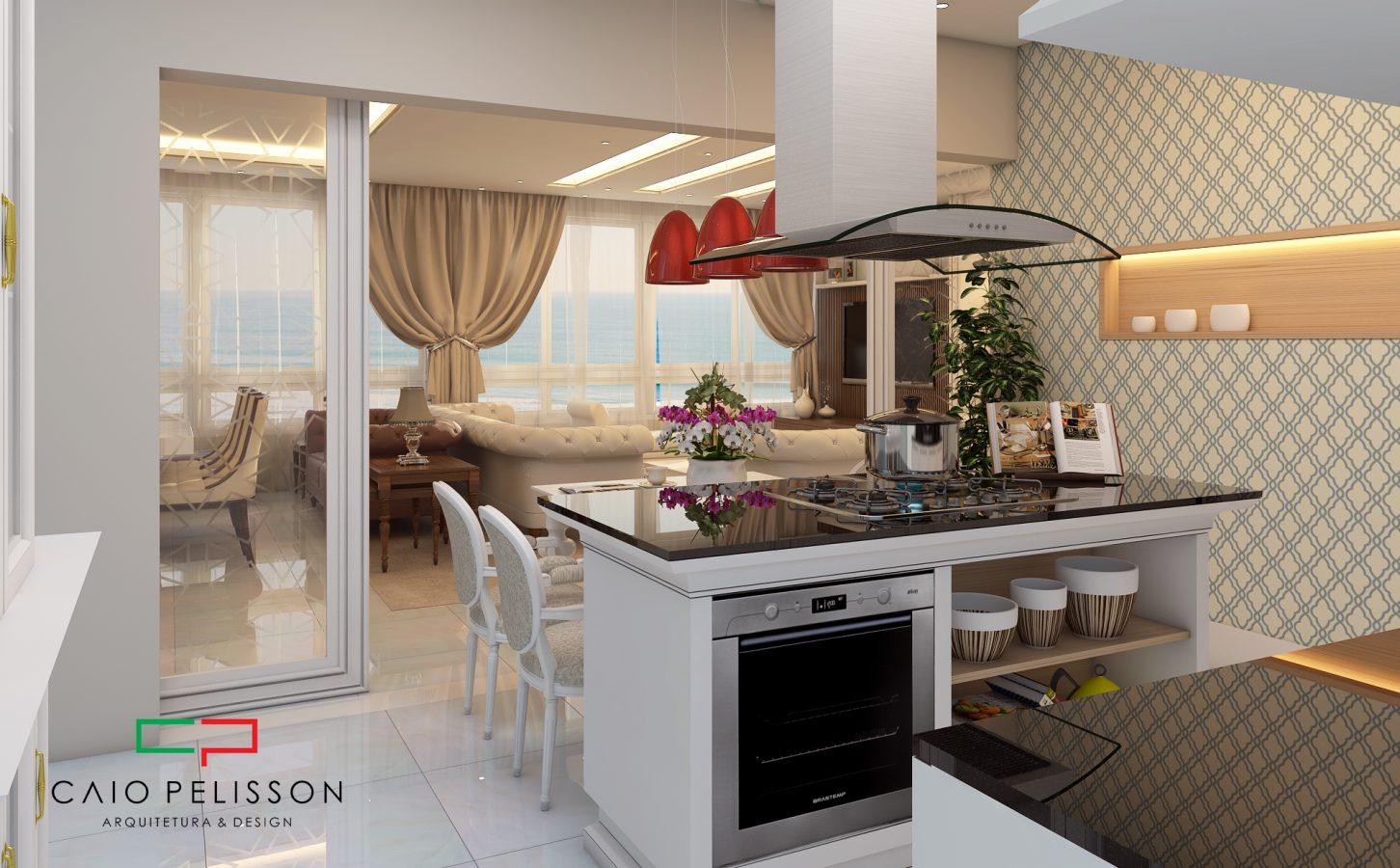 Projeto Casa Com Cozinha Americana Fabulous Planta De Casa Com