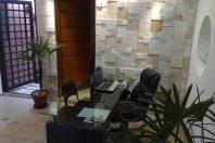 projeto decoração escritório corporativo gesso pedrinha
