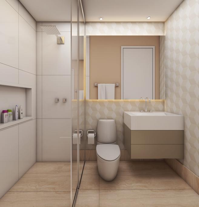 Excepcional Projetos de Ambientes para Apartamentos pequenos - Arquiteto Caio RR35