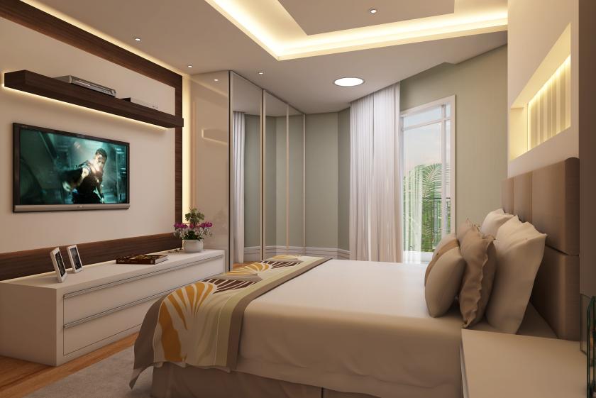 Como decorar quartos de luxo no Condomínio Marajoara
