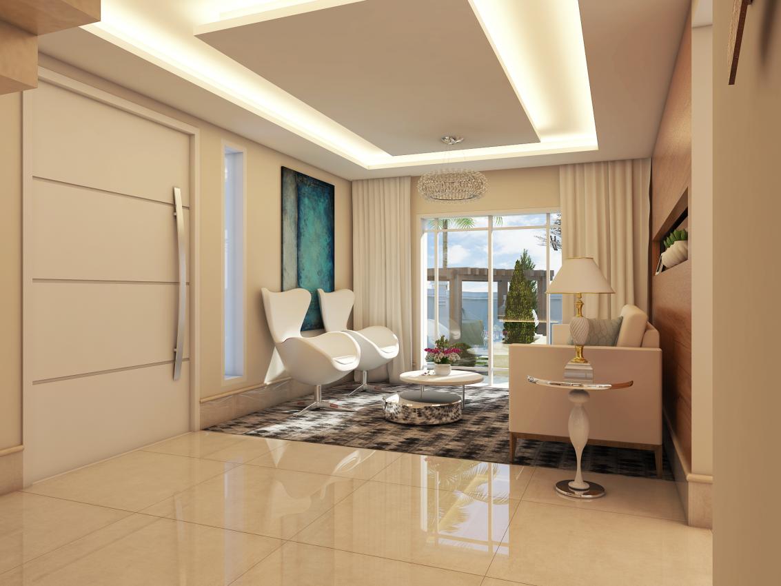 Projeto de design de interiores online arquiteto caio for Interiores de salas modernas