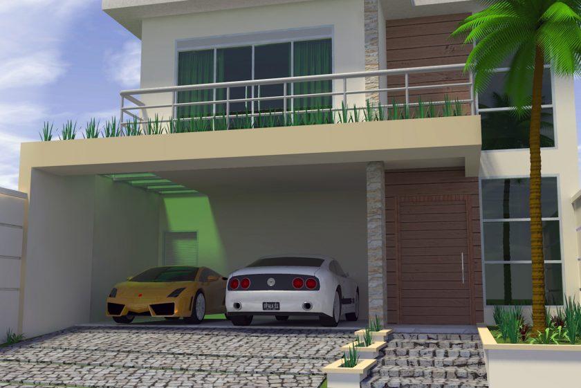 Casas modernas x casas neocl ssicas for Casa moderna de 7 x 15