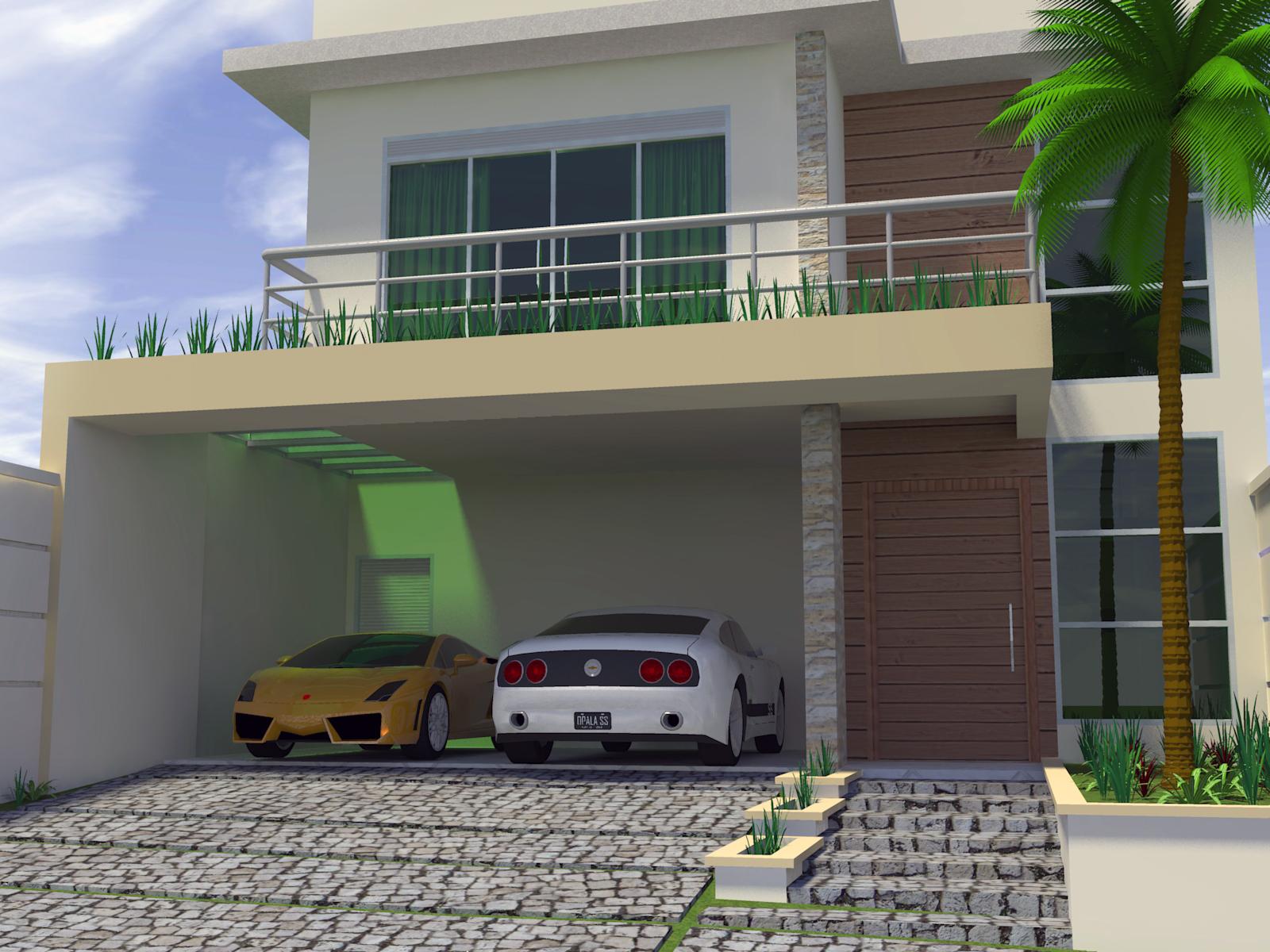 Casas modernas x casas neocl ssicas for Casa moderna 11