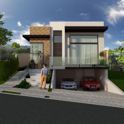 Projetos de casas arquitetura moderna e contempor nea for 30 fachadas de casas modernas dos sonhos