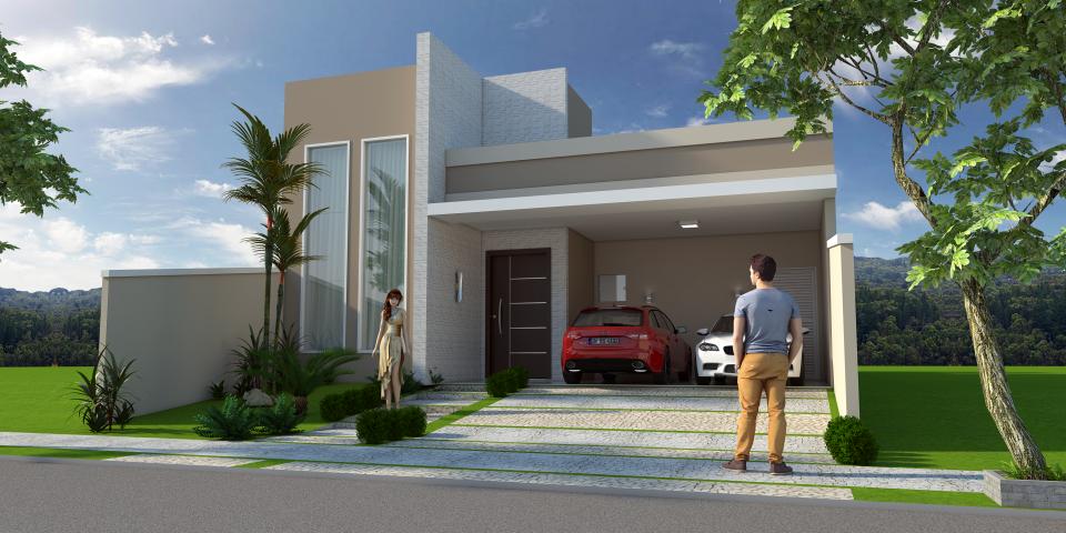 Projetos de arquitetura residencial campinas plantas de for Construir casas modernas