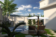 projeto casa neoclássica esquina sobrado alto padrão arquiteto