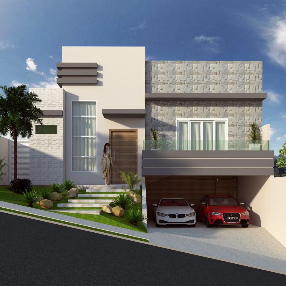 Extremamente Projetos de Casas Arquitetura Moderna e Contemporânea ZE86