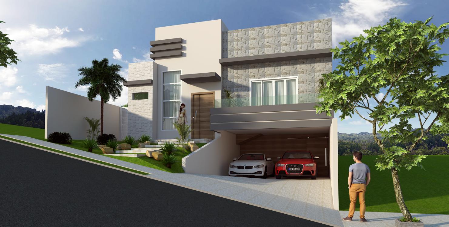 Projetos de casas com garagem subterr nea subsolo - Imu 2 casa 2017 ...