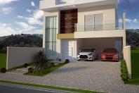 projeto planta casa sobrado moderna terreno 10×25