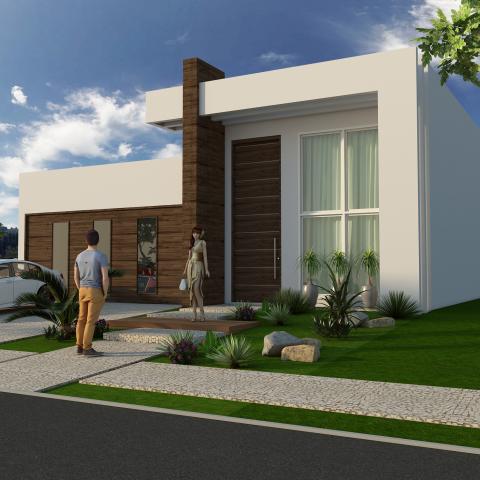 Projetos de casas arquitetura moderna e contempor nea for Casa moderna 150 m2