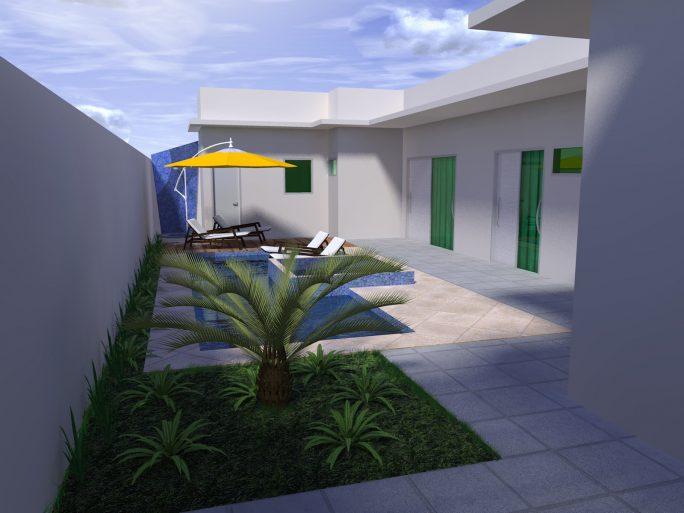 Arquitetura moderna casas terreas casa avr ovar habitaes for Plantas de casas tipo 3 modernas