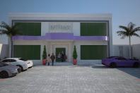 projeto loja lingerie galpão comercial centro limeira estacionamento
