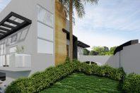 projeto casa sobrado 3 dormitórios 2 esquinas garagem subsolo