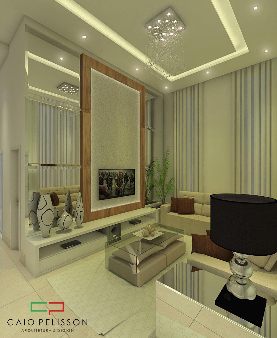 Projeto design interiores online casa alto padr o luxuosa for Casa online