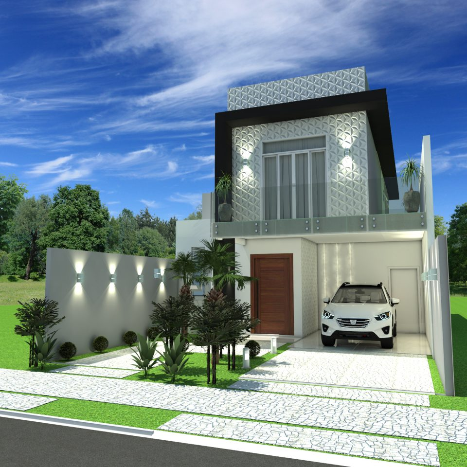 Projetos de arquitetura residencial campinas plantas de for Planos de casas 200m2