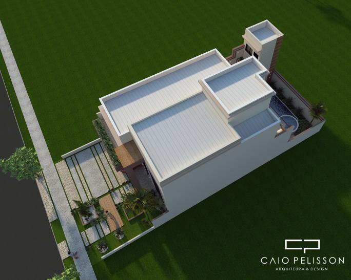 projeto edicula fundos moderna 2 andares 2 pavimentos sobradado piscina